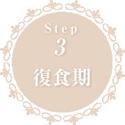 Step3 復食期