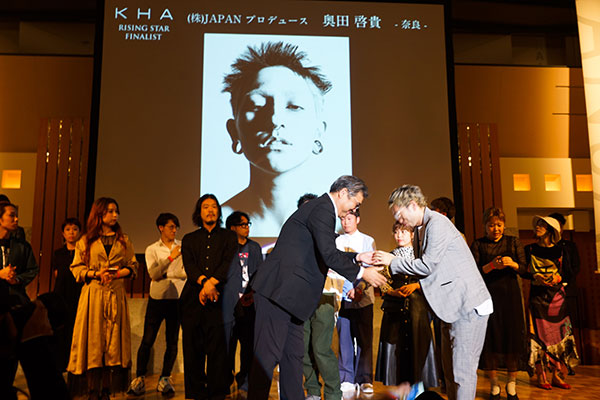 KHA2019関西ヘアドレッシングアワーズ「ライジングスター部門」受賞!! daisy 奥田 啓貴