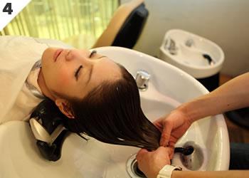 頭皮環境を整えふんわりと軽い仕上がり